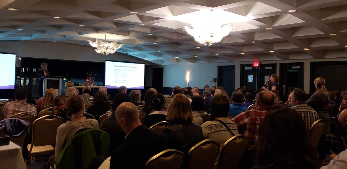 Assemblée publique sur la mise en œuvre d'un régime national d'assurance-médicaments à Halifax